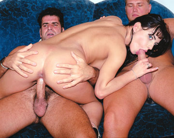 Private Castings: Busty Brunette Dorothy Black Dped After the Private Casting